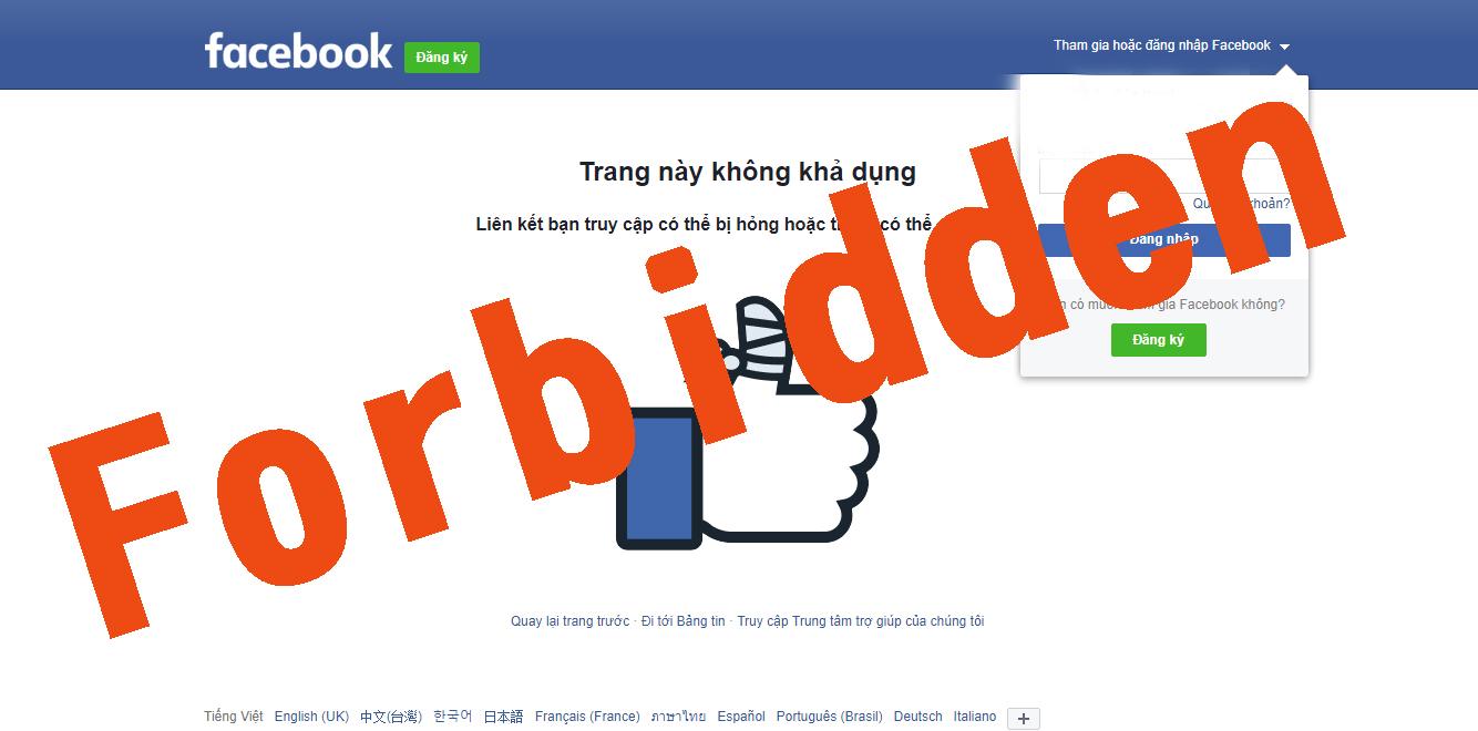 Tài Khoản Quảng Cáo Facebook Nhà Mình Bị Gắn Thẻ Đỏ -Còn Hàng Xóm Thì Sao?
