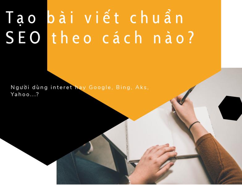 Viết Nội Dung Chuẩn SEO – SEO Thì Chuẩn, Nội Dung Đã Chuẩn Chưa?